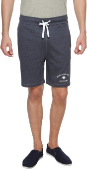 Radio Jockey Solid Men's Basic Shorts - SRTEBKPY6GH4GV96