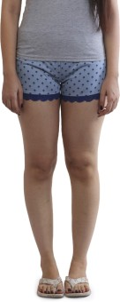 Slumber Jill Printed Women's Night Shorts