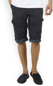 Truccer Basics Summer Solid Men's Cargo Shorts - SRTE62XCHBURMFRV