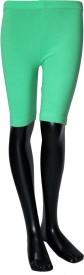 Starsy Solid Boy's Green Basic Shorts