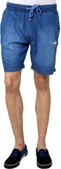 Wear Your Mind Denimex Woven Men's Denim Denim Shorts