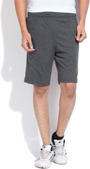 Jockey Solid Men's Sports Shorts - SRTE249DWN249REB