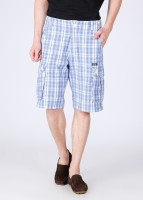 Rat Trap Checkered Men's Shorts