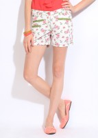 King & I Floral Print Women's Shorts