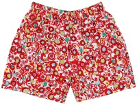 Oye Printed Girl's Basic Shorts
