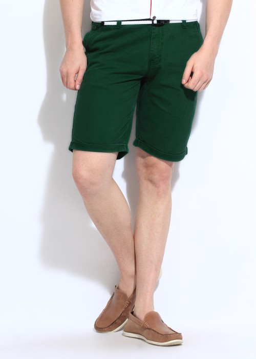 Wear Your Mind Solid Men's Denim Shorts