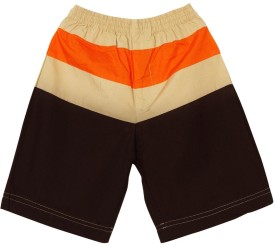 Oye AW14H2-AT003 Solid Baby Boy's Basic Shorts - SRTE43REEFQ5YUKH