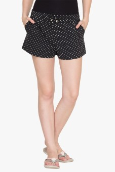 Hypernation Polka Print Women's Basic Shorts