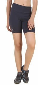 Arcley Solid Women's Grey Gym Shorts