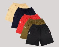 Provalley Solid Boy's Basic Shorts