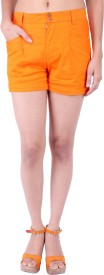 Fbbic Solid Women's Basic Shorts