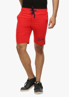 Wear Your Mind Solid Men's Sports Shorts - SRTE8UHHGTSY7ZJG