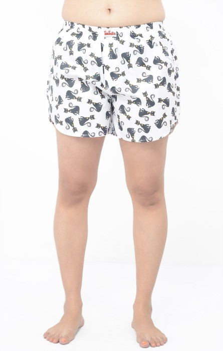 TeesTadka Printed Women's Boxer Shorts - SRTEFS7QGTGGBZKP