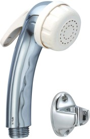 Kywin ABS Aqua White Health Spray With Oval Wall Hook Only Hand Shower Head