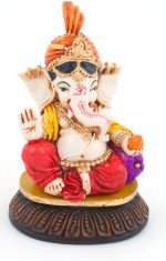 The Nodding Head Pagdi Ganesha with Ornaments