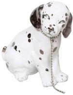 Riva Luxury Ceramic Dog White & Platinium