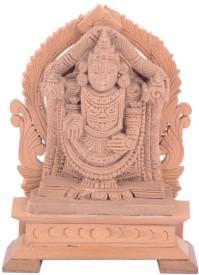 Sheela's Arts & Crafts Lord Balaji Showpiece  -  10 cm