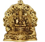 Aakrati Lord Ganesha Sitting on a Carving Throne