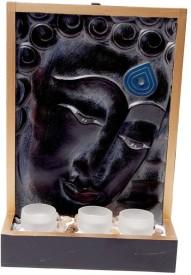 Cosmosgalaxy Peaceful Buddha Showpiece - 8.5 cm