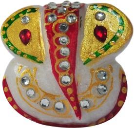 RajLaxmi Marble Ganesh Showpiece  -  5.5 cm