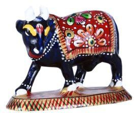 45 Off On Hd Techno Crafts Standing Cow Handmade Of Cast Iron 8