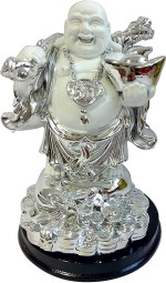 Aadi Shakti Unique Standing Laughing Buddha Statue By Return Favors