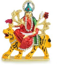 Divine Gifts & Artificial Jewellery Durga Meena Multicolour Brass Prince Showpiece Showpiece  -  7.6 cm