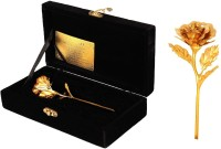 Jewel Fuel Exclusive Rose With Velvet Box Gold Gift