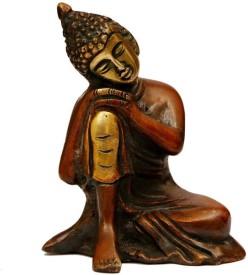 Craftartz Resting Buddha Showpiece - 9.4 cm