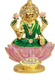 Adaa Goddess Lakshmi Sitting on Lotus Showpiece  -  4 cm