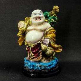 The Holy Mart PROSPERITY BUDDHA Showpiece  -  17.5 cm