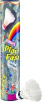 Kamachi Play Fast Feather Shuttle  - White (Medium, 77, Pack Of 6)
