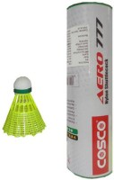 Cosco Aero 777 Nylon Shuttle  - Yellow (Medium, 77, Pack Of 12)