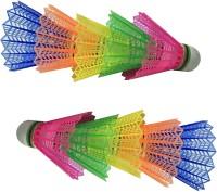 Arnav A1 Plastic Shuttle  - Multicolor (Medium, 77, Pack Of 10)
