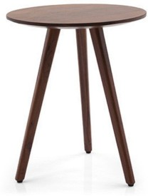 SMARVVV PRODUCTIONS Solid Wood Side Table