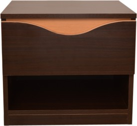 HomeTown Swirl Night Stand Engineered Wood Bedside Table