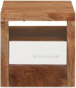 @home by Nilkamal @home by Nilkamal Thor Solid Wood Bedside Table
