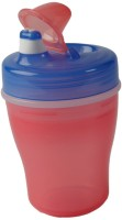 Pigeon Pigeon Double Layer Sucking Cup (Pink/Blue)