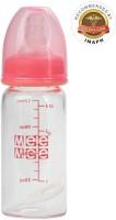 MeeMee Premium Glass Feeding Bottle (120Ml) (Pink)