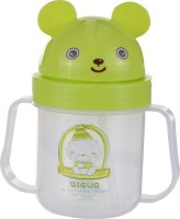 Koochie Koo Cute Green Toss Up Straw Sipper (Green)