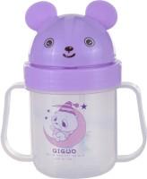 Koochie Koo Cute Purple Toss Up Straw Sipper (Purple)