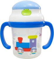 Rachna Baby / Infant 01 PP Water / Juice Training Straw Sipper Cup With Handle - 180ML (Blue)
