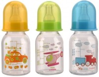 MeeMee Milk Safe Feeding Bottle (Multicolor)