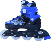 Smart Pro 1163 Blue Extra Large In-line Skates - Size 39 - 42 Euro (Blue)