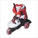 Pointbreak Twinkle 5002 In-line Skates - Size 1 - 13 UK - White, Red, Black