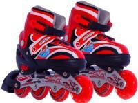 MSE Skating Shoe_FB_05 In-line Skates - Size 7 - 9 UK (Red)
