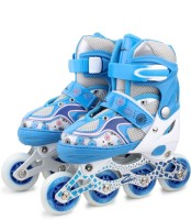 Zillion Zillion ZS012 Inline Skates 5002 Medium Size (Blue) In-line Skates - Size 35-38 Euro (Blue)