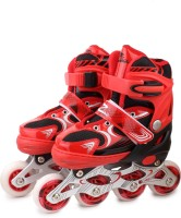 Zillion Zillion ZS006 Inline Skates 5001 Medium Size (Red) In-line Skates - Size 35-38 Euro (Red)