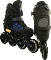 MSE In Line Running Shoe_100 In-line Skates - Size 7-9 UK (Black)