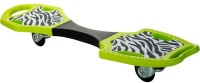 Oxelo Wave Board First Zebra 31 Inch X 8 Inch Skateboard (Green|Black, Pack Of 1)